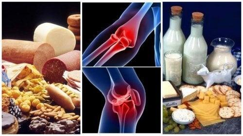 dureri articulare din alimente