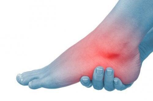artroza posttraumatică a simptomelor gleznei