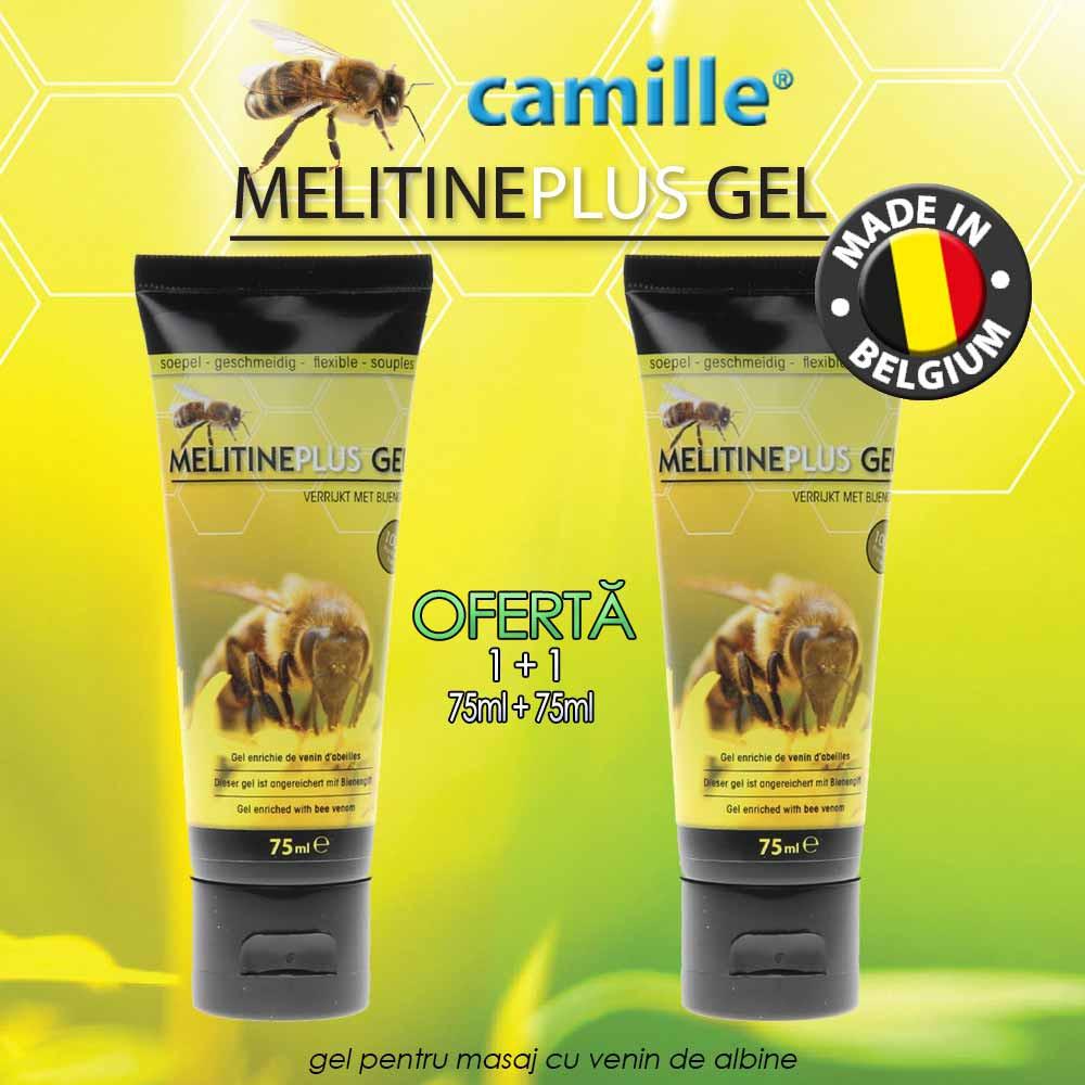 Gel cu venin de albine și propolis pentru dureri de articulații - 200 ml
