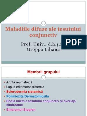 Patogeneza bolilor difuzive ale țesutului conjunctiv - fotovideoconstanta.ro